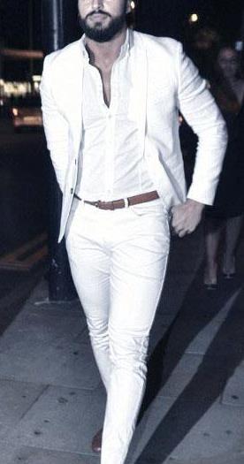 1c661ed0df2 21 Υπέροχα all white ντυσίματα για άντρες!   Ανδρική Μόδα - Men's ...