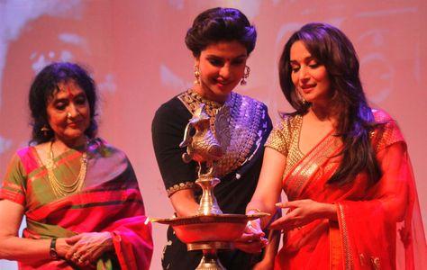 Priyanka Chopra at Dilip Kumar