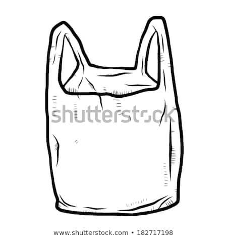 Plastic Bag Cartoon Vector And Illustration Plastic Bag Bag Illustration Cartoons Vector