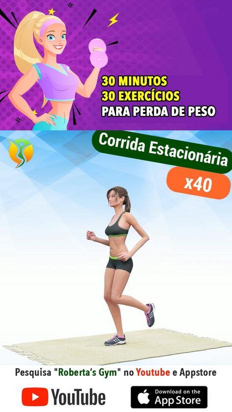 30 Minutos - 30 Exercícios Para Perda De Peso