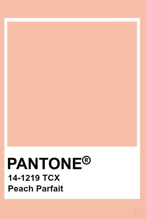 Pantone Peach Parfait