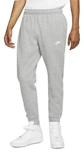 Nike Tapered Club Swoosh Men's Fleece Sweatpants 826431 063 ...
