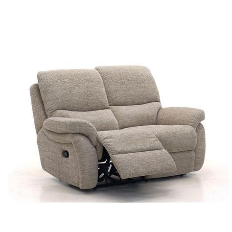 La Z Boy California Fabric 2 Seater Recliner Sofa
