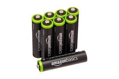 Amazonbasics Aaa Rechargeable Batteries Rechargeable Batteries Batteries Alkaline Battery