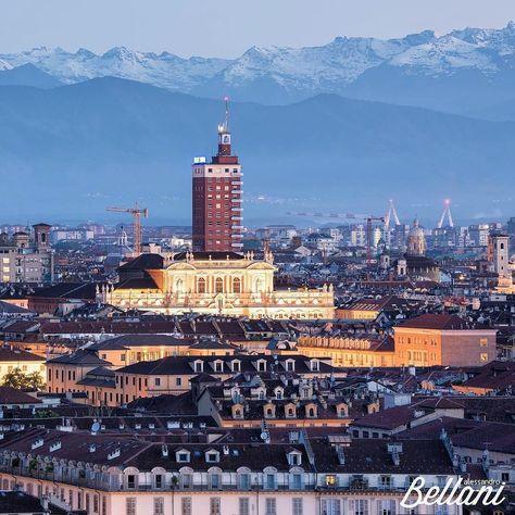 volgoitalia I tetti di Torino #torino...