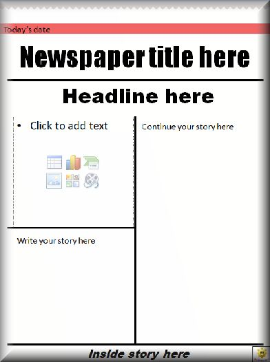 report writing title page example