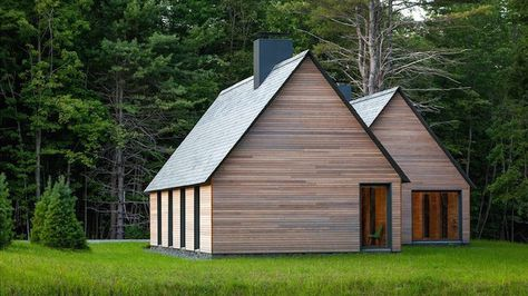 Modern Marlboro Cottages use natural and locally sourced materials in Vermont | Inhabitat - Sustainable Design Innovation, Eco Architecture, Green Building
