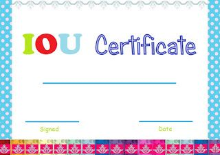 Select And Print Iou Certificates And Cards Fresh Designs In 2021 Templates Printable Free Printable Chart Certificate Templates