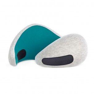Ostrich Go Kissen Blau Health Pillows Healthy Living