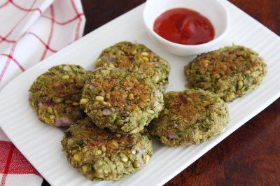 Diabetic Friendly Moong Sprout Cutlet Recipe Diet Food Snacks