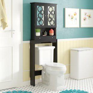 Beachcrest Home Raglen 15 W X 36 H Cabinet Wayfair Toilet Storage Bathroom Wood Shelves Cabinet Shelving