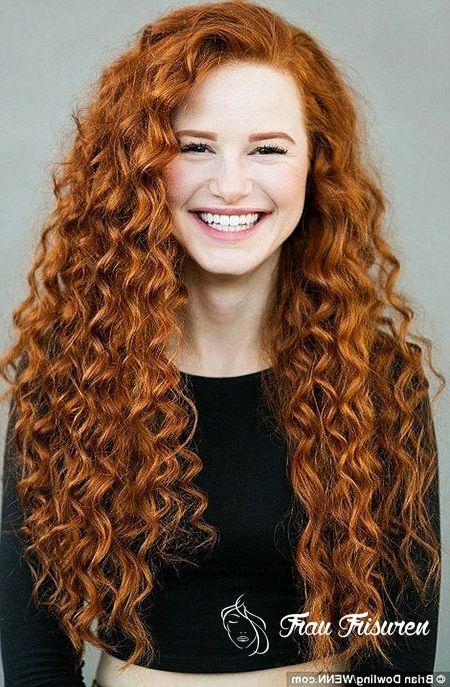 30 Lange Lockige Rote Frisuren Lockige Rote Haare Frisur Rot Lockige Frisuren