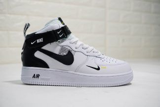 Black Nike Air Force 1 Mid 07 L V 8 Utility Pack Double Swoosh Nike Shoes Air Max Nike Air Black Nikes