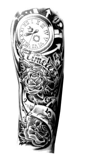 Hand Tattoo Png For Picsart Gambar Sketsa Seni