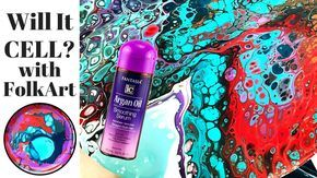 Will It Cell Argan Oil Fluid Painting With Art Supplies From