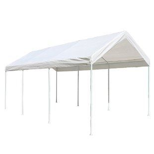 Abolos 10 Ft X 19 5 Ft Canopy Gazebo Carport Canopy Steel Frame