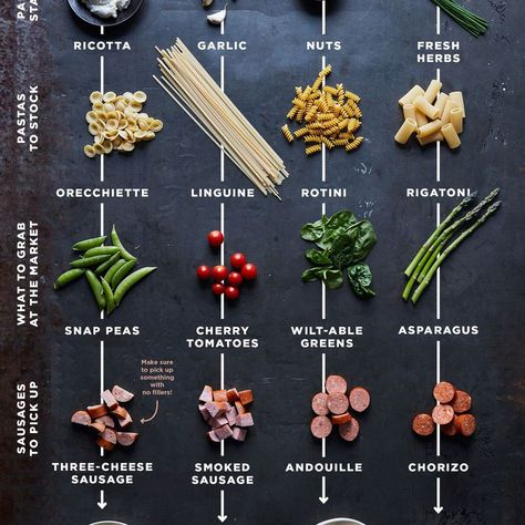 Tips to use in your pasta dinners all year long