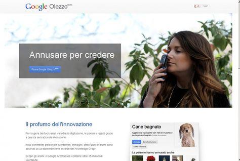 Odori online e mappe del tesoro: è il #1aprile di Googlee voi l'avete provato Google #Olezzo?
