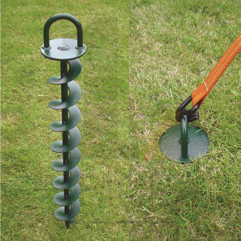 Hurricane Ground Anchor Leach S Scaffolders Supplies Ground Anchor Contemporary Garden Diy Tent