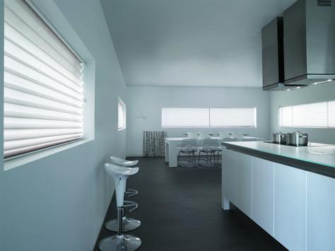 Sichtschutz Plissee Rollo in grün füru0027s #Badezimmer Cortinas y - sichtschutz für badezimmerfenster