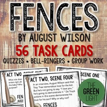 the themes of racism in august wilson s fences Racism basically refers the play fences by august wilson this does not seem to be the case in the relationship between troy and cory in august wilson's fences.