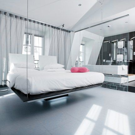 Bett Decke Seilen Aufhängen Kleine Wohnung Renato Arrigo | Traumland |  Pinterest | Space Saving Beds, Ceilings And Spaces