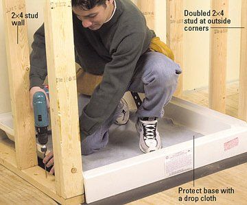 How To Build A Shower Enclosure For Your Diy Bathroom Remodel