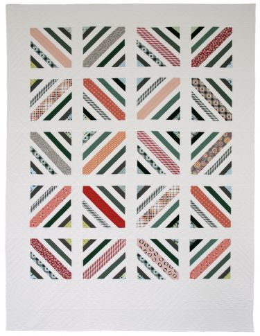 Between the Lines Quilt Pattern twin by denise schmidt