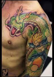 Shenron Tattoo 28 Dragon Ball Tattoo Dbz Tattoo Tattoos