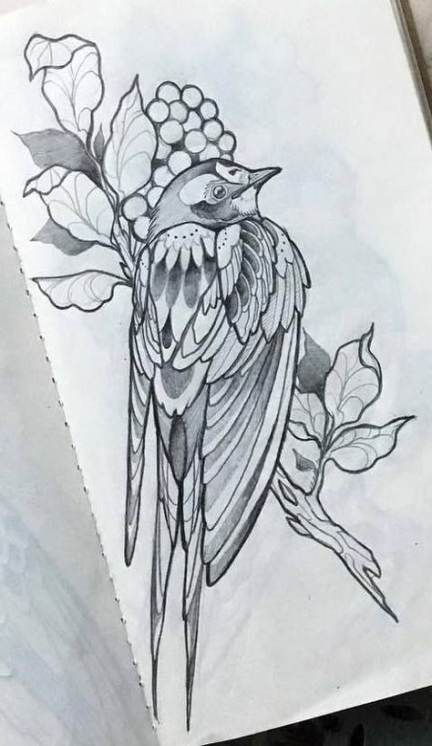62 Best Ideas For Tattoo Bird Neotraditional Neo Traditional Flower Tattoo Drawings Birds Tattoo Tattoo Drawings