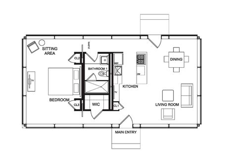 21 best plan idée images on Pinterest Small houses, Cottage and