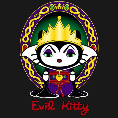 Evil Kitty Not a Hello Kitty fan but like this.
