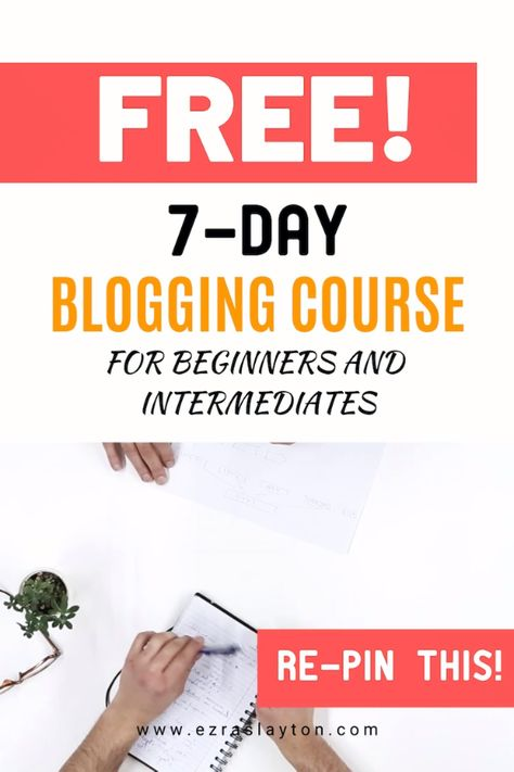 Blog Specialist Boot Camp 7 Day E-Course