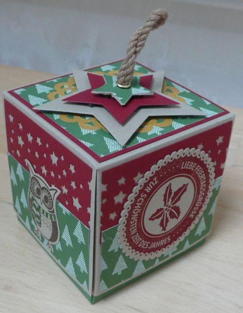6Pcs Weihnachtsgeschenke Weihnachten Pop-Up Grußkarte Zweite Natur 3D Pop