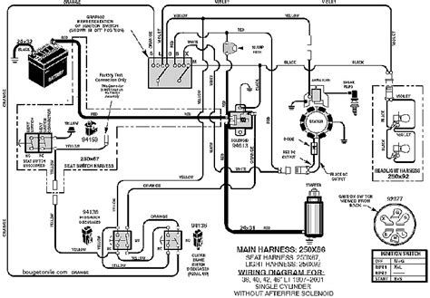 murray riding mower wiring schematic wiring diagram basic ignition wiring diagram for lawn mower murray lawn mower ignition wiring diagram 425615x99b #11