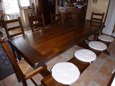 Table salle a manger et 4 chaises Ameublement Puy-de-Dôme