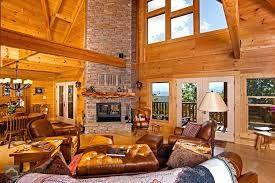 10 Impressive Log Cabin Interior Designs For Your Home Log