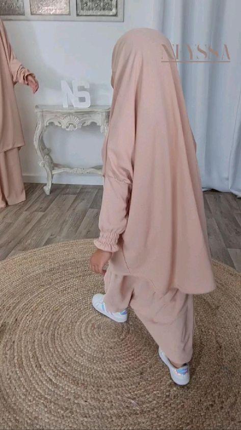 jilbab mère fille aïd 2021 par Neyssa