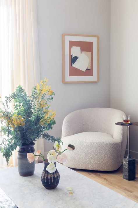 Sunlit Living Room Corner