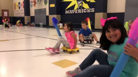 """McGowen PE on Twitter: """"Flag Tag. Don't let you flag get pulled. #KindergartenPE #mcgelem #misdpe #mymisd #scooters #laughter… """""""