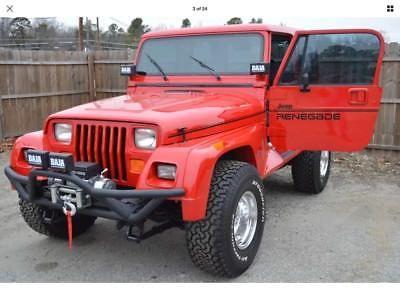 Ebay 1994 Jeep Wrangler Renegade 1994 Jeep Wrangler Renegade
