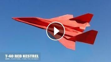 Best Paper Airplane Model How To Make A Jet Fighter