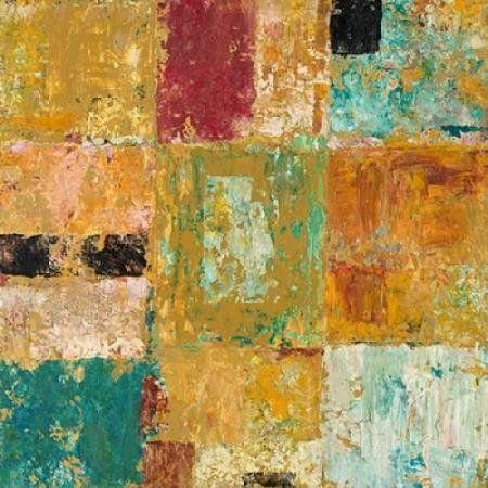 Textured Canvas 1 Canvas Art - Chris Mills (24 x 24)