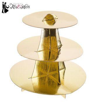 Round Gold Cupcake Stand Hobby Lobby Gold Cupcake Stand Cupcake Stand Wedding Cupcake Wedding Centerpieces