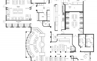 Restaurant Kitchen Blueprint kitchen layout planner 1500x1447 giovanni italian restaurant floor