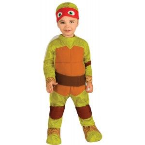 Halloween 2020 Tmnt Teenage Mutant Ninja Turtles Raphael Toddler Costume TMNT