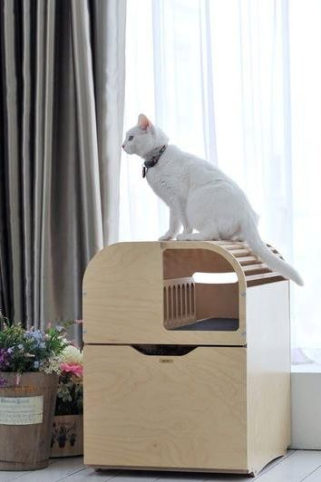 Camada Modern Cat Furniture Litter Box Furniture Cat Litter Box Furniture