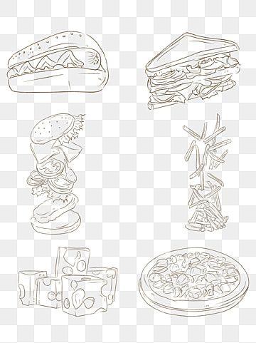 صور الوجبات السريعة الغربية الوجبات السريعة الغربية ناقلات المواد تحميل قالب الوجبات السريعة الغربية الغربي للوجبات السريعة Png وملف Psd للتحميل مجانا Food Pictures Pizza Burgers Fast Food
