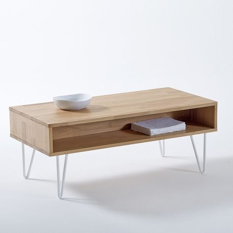 The Adza Coffee Table Is Given A Vintage Twist The Scandinavian