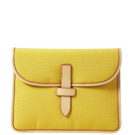 Dooney and Bourke iPad case, future diy nook case? maybe could use some denim?